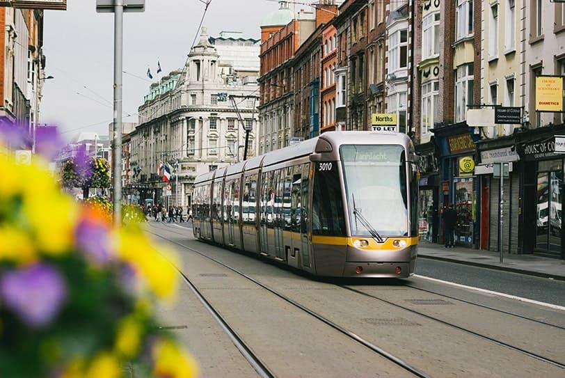 Tramway comme Mobilité Durable