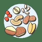 Aliments durables : les noix