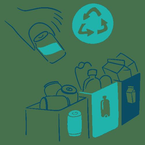 Réduction des déchets et recyclage