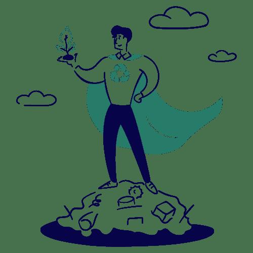 ville durable et écologique : gestion des déchets