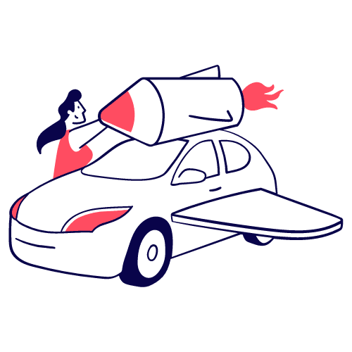 Carbo voiture ou fusée