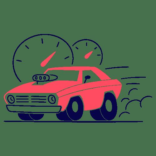 Bilan carbone d'une voiture électrique : réduction de la vitesse