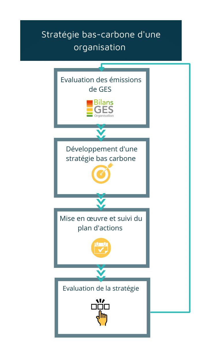 Stratégie bas carbone d'une organisation