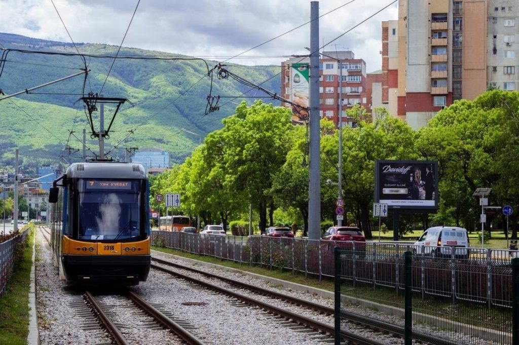 Transport durable : tramway