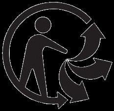 Recyclage plastique : logo triman