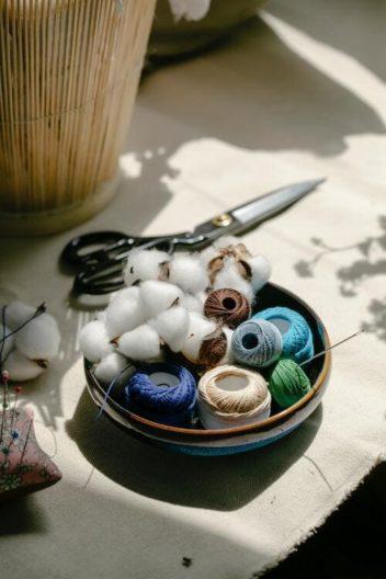 Matière éco-responsable coton pour du slow fashion.